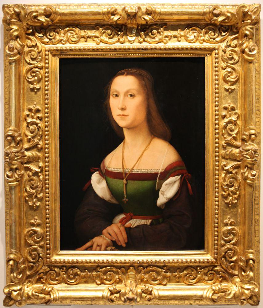 Рафаэль. Женский портрет (Немая)