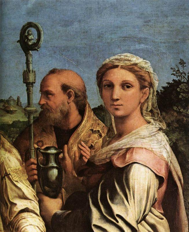 Святая Мария Магдалена (фрагмент алтаря Экстаз святой Цецилии)