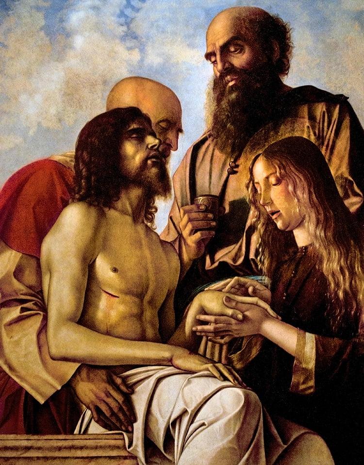 Оплакивание Христа Джованни Беллини 1478
