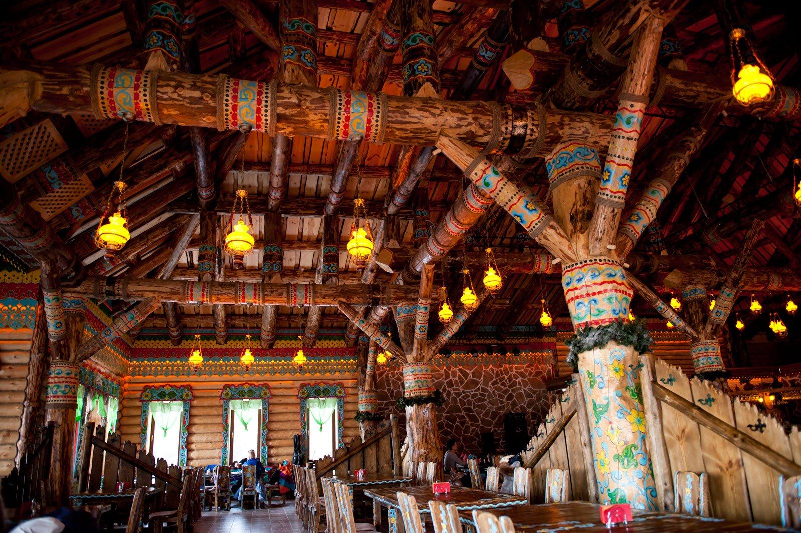 Ресторан Чугунок на Милой горе