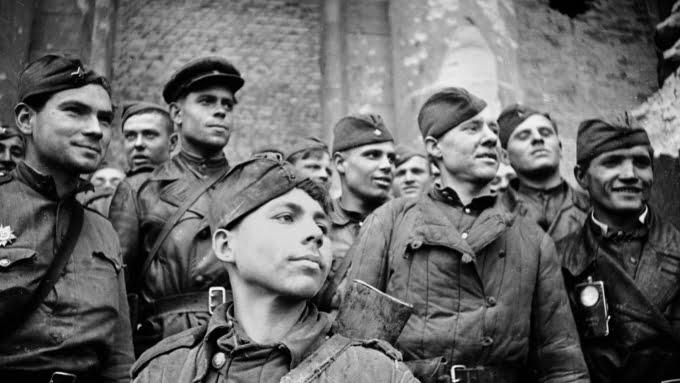 На параде 1941