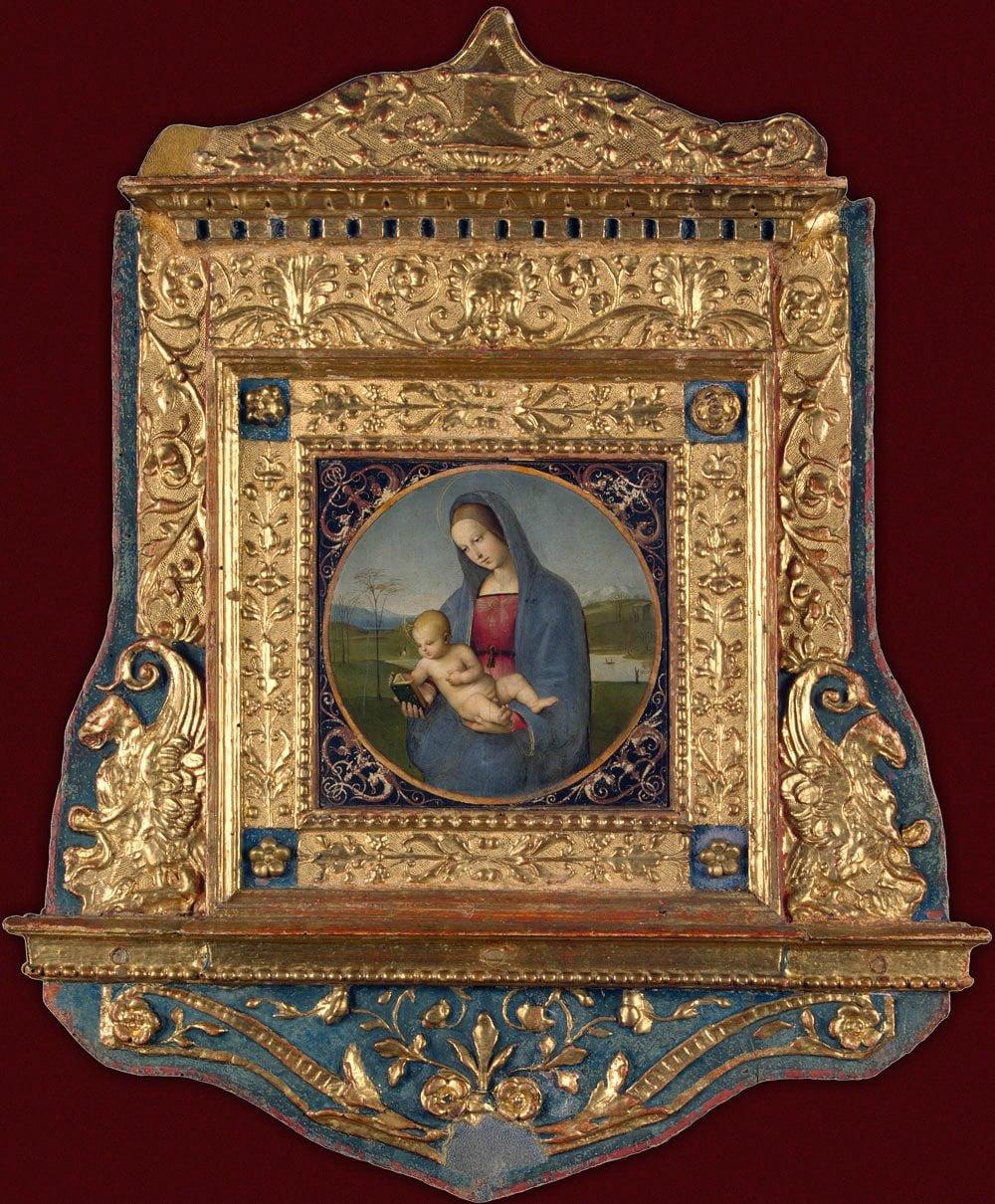 Рафаэль. Мадонна Конестабиле. 1504. Эрмитаж (Санкт-Петербург)