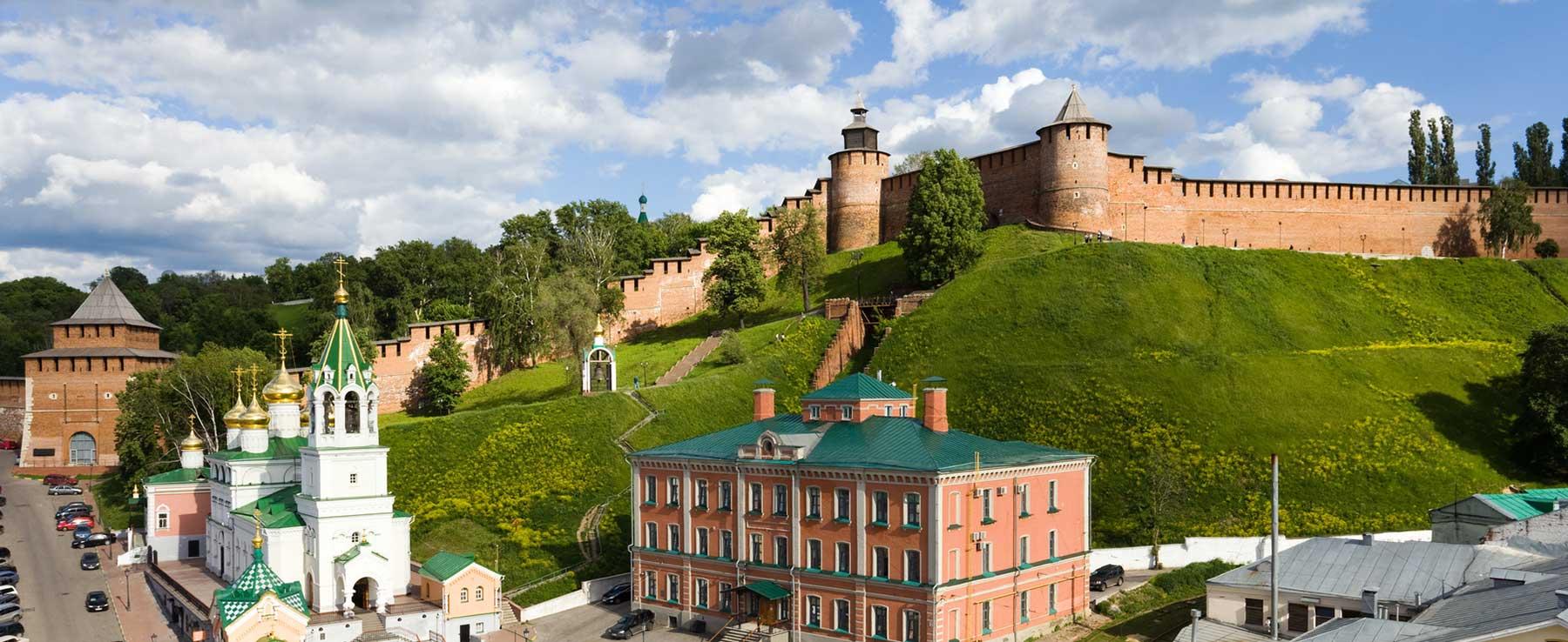 Кремлевский холм в Нижнем Новгороде
