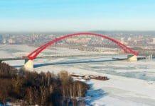 Бугринский мост в Новосибирске