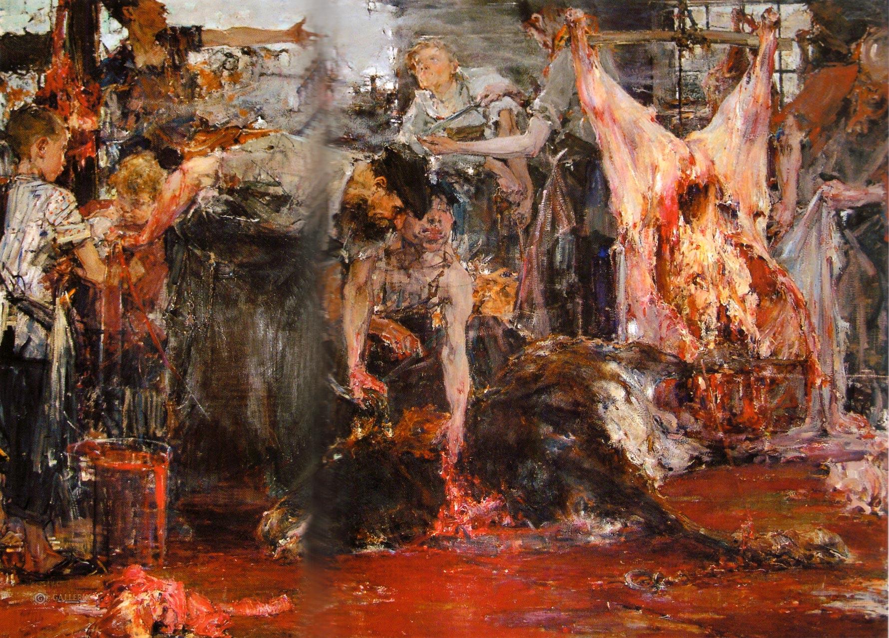 Фешин - БОЙНЯ (1919)