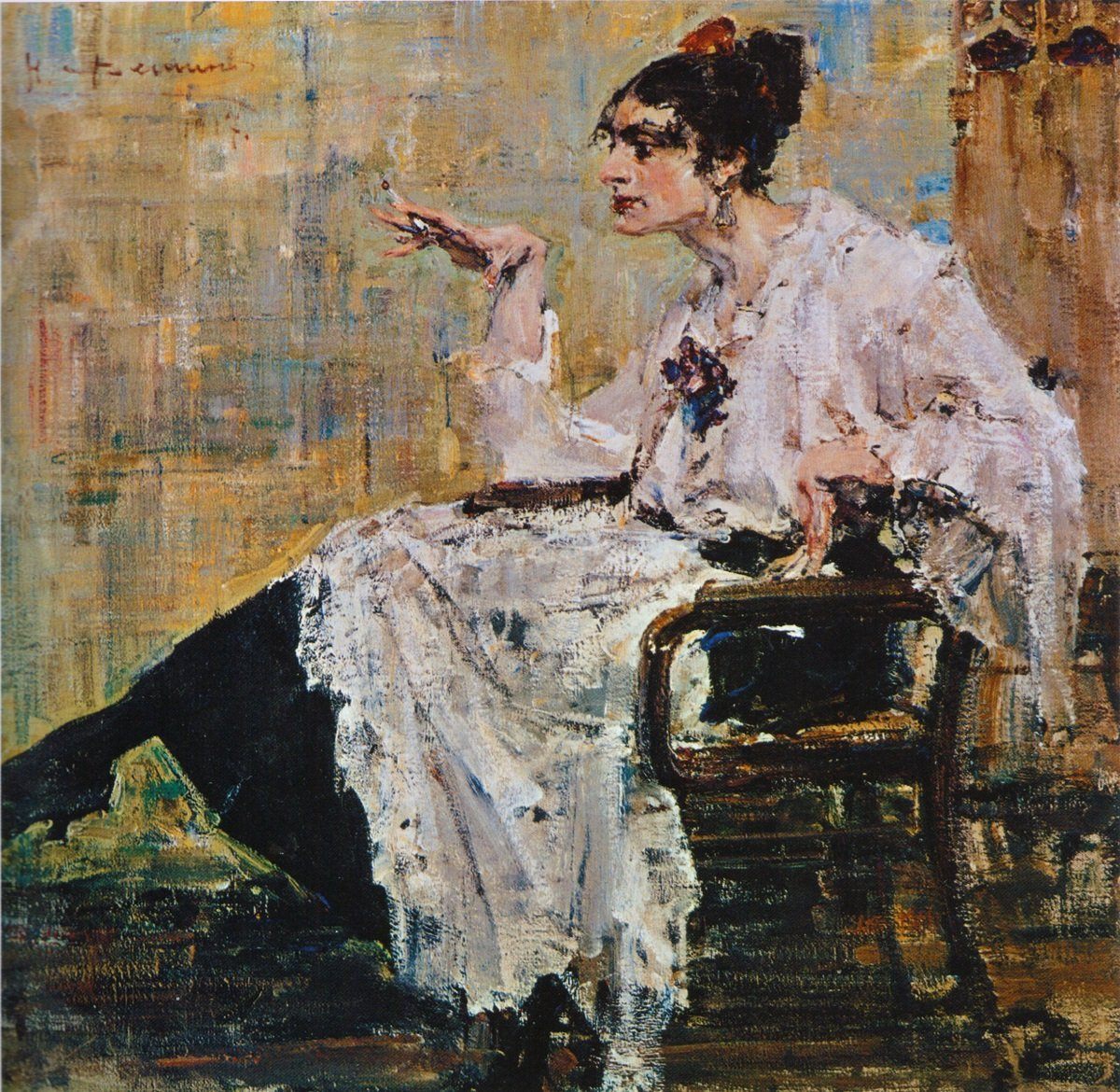 Atiby - ЖЕНЩИНА С СИГАРЕТОЙ (1917)