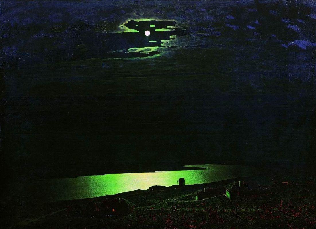 Куинджи Лунная ночь на Днепре