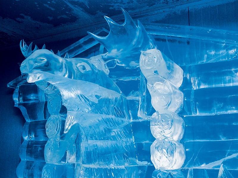 В леднике Деда Мороза