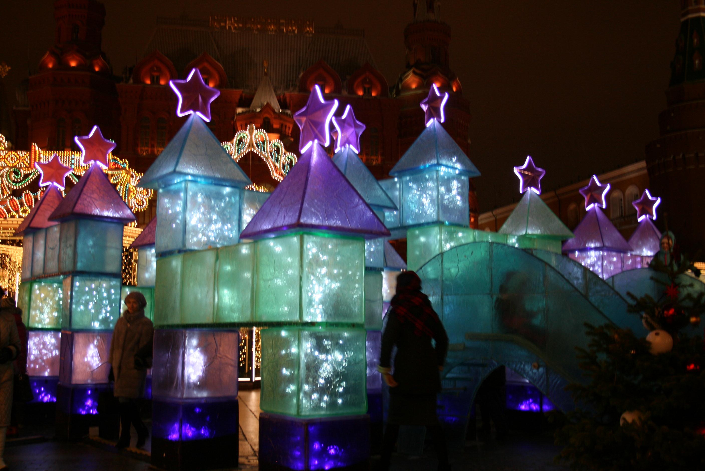 Фестиваль в Рождество на Манежной площади