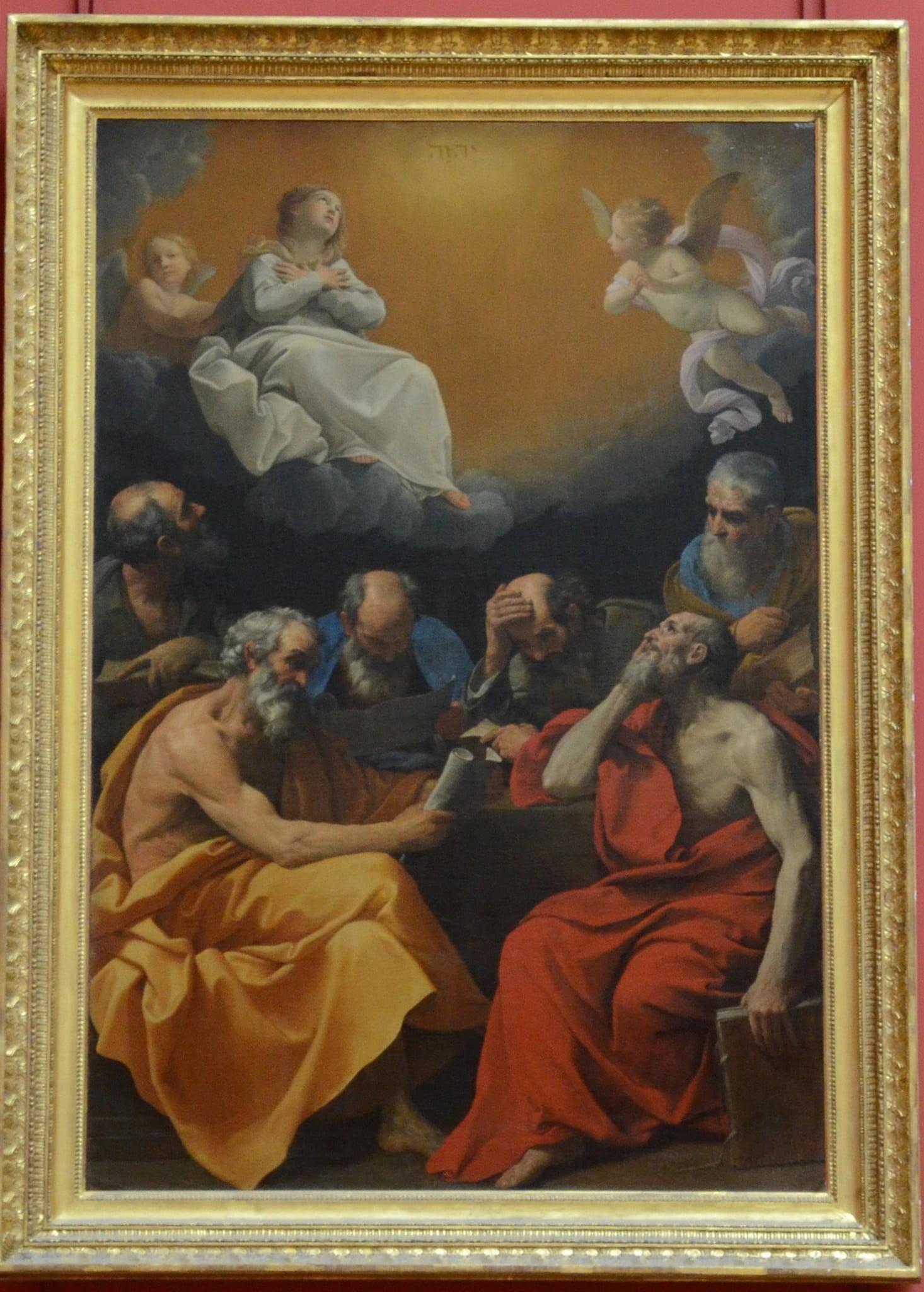 Рени Отцы церкви спорят о догмате непорочного зачатья