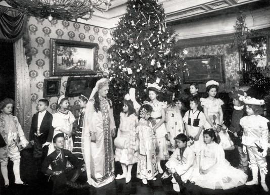Рождественский праздник 1914 год