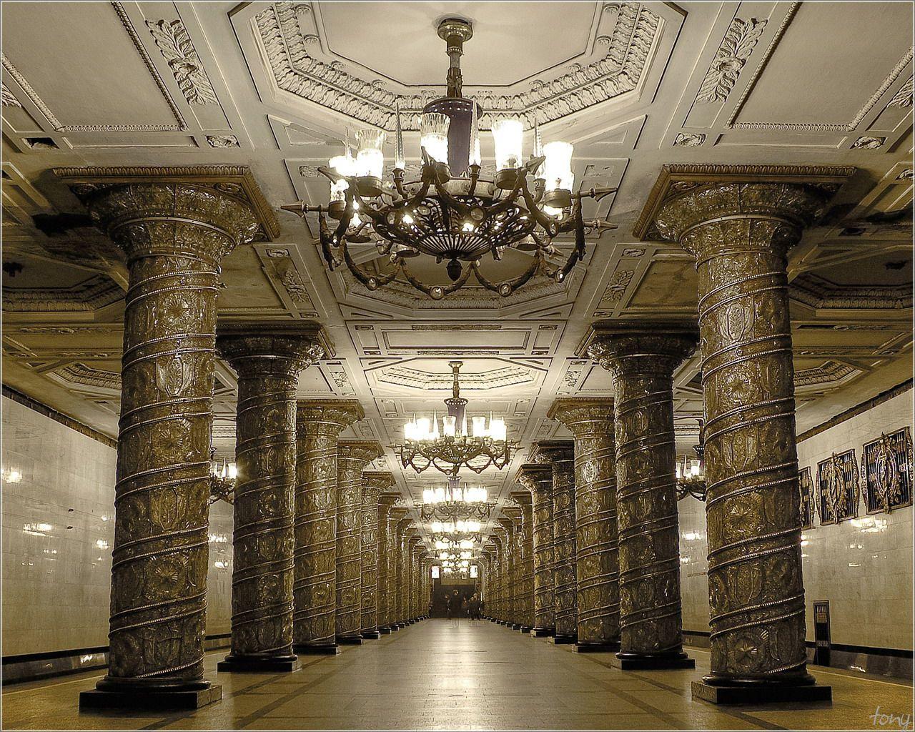Петербургский метрополитен. Станция Автово