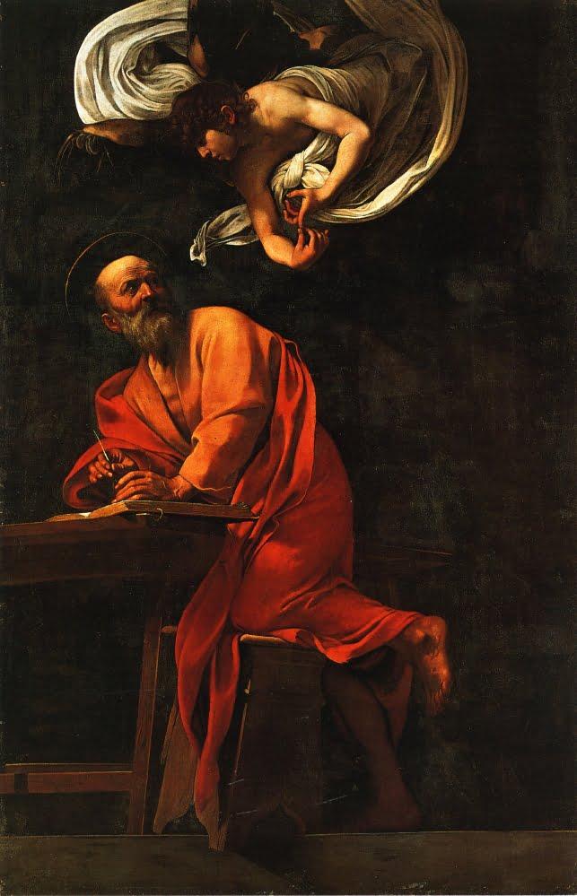 Вдохновение святого Матфея