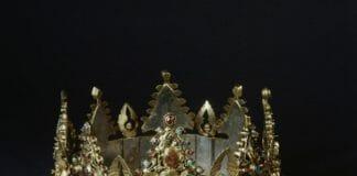 корона Людовика святого - реликварий из Лувра