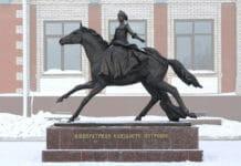 Йошкар Ола. памятник Елизавете Петровне