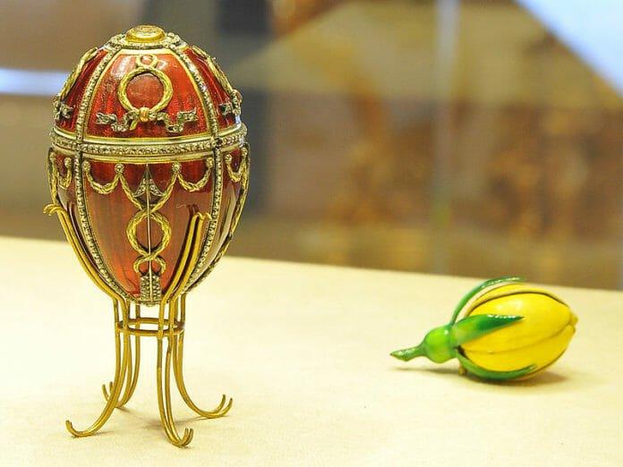 Яйцо Бутон розы. Фаберже