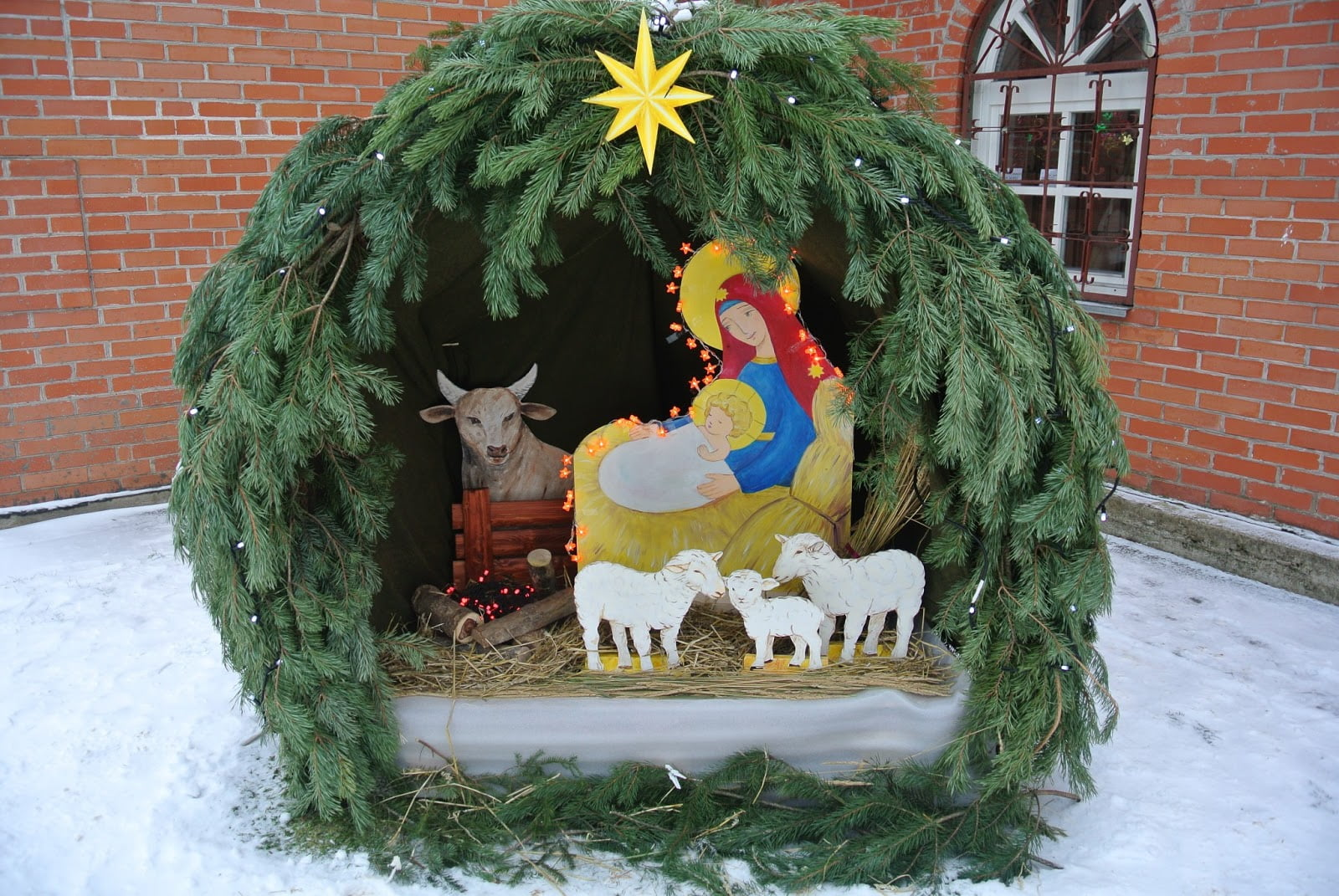 Вертеп. Рождество Христово