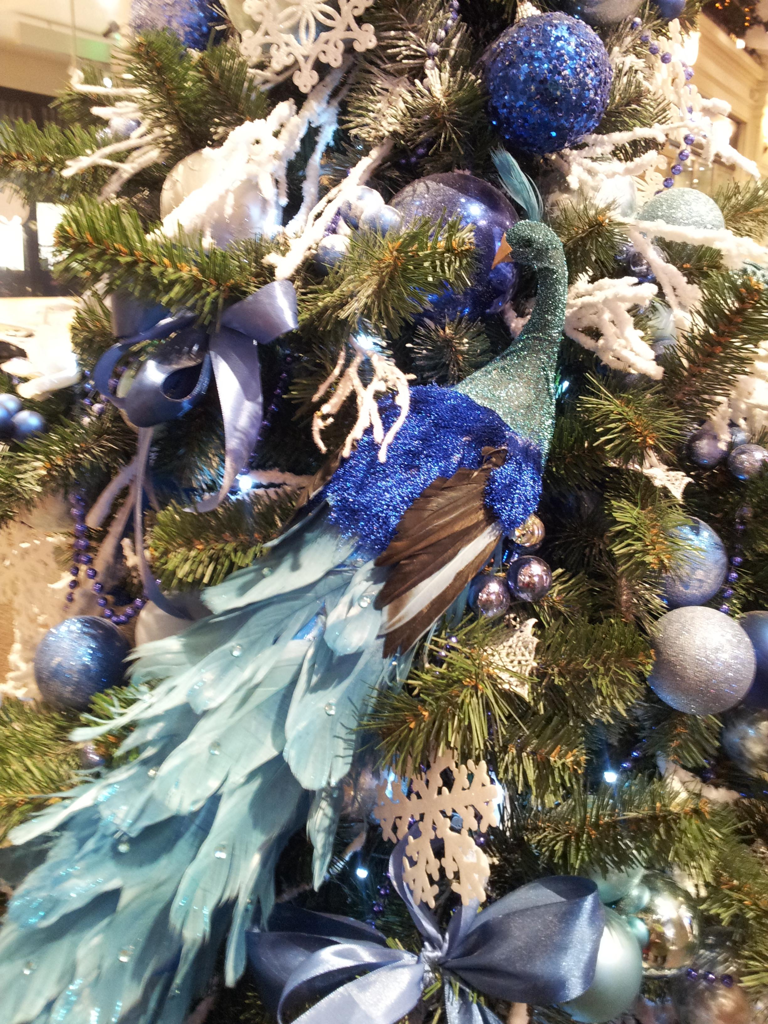 елки гума - синяя птица