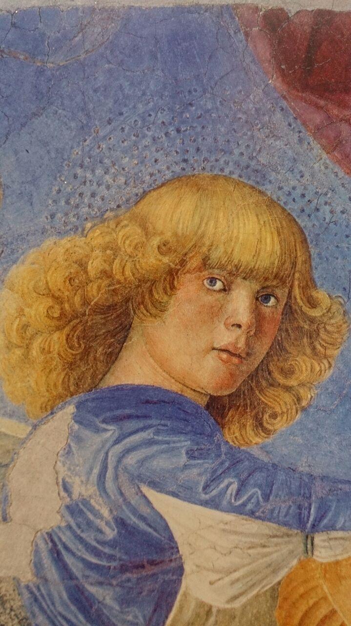 Мелоцо Ангел, играющий на лютне
