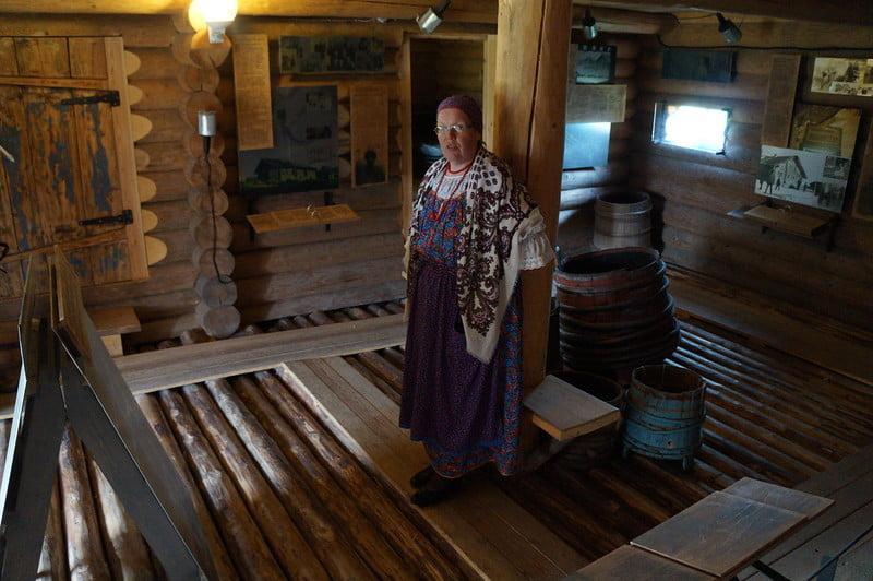 Деревня Кинерма. Республика Карелия