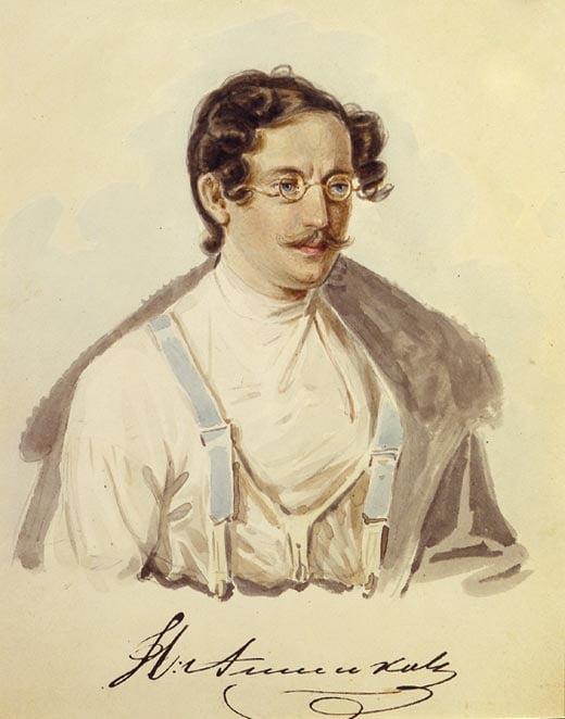 Декабрист И.А. Анненков