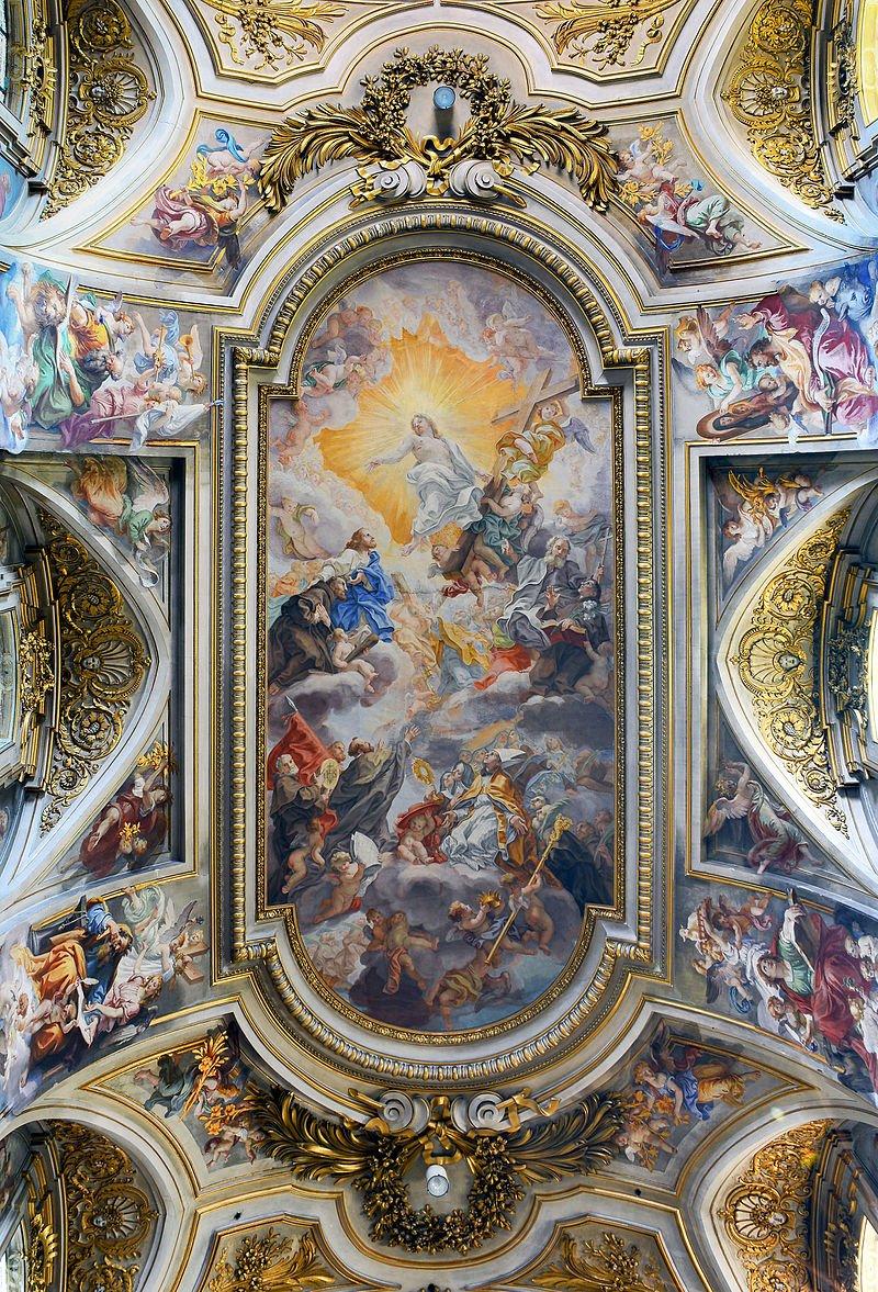 Basilica_dei_Santi_Apostoli_(Rome)_-_Ceiling