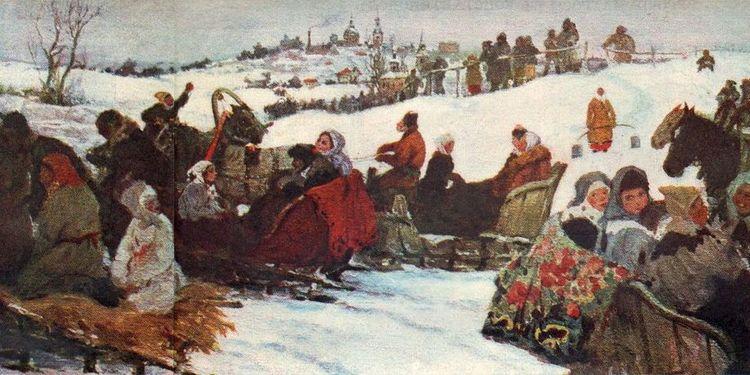 Бучкури-Катание-на-святках