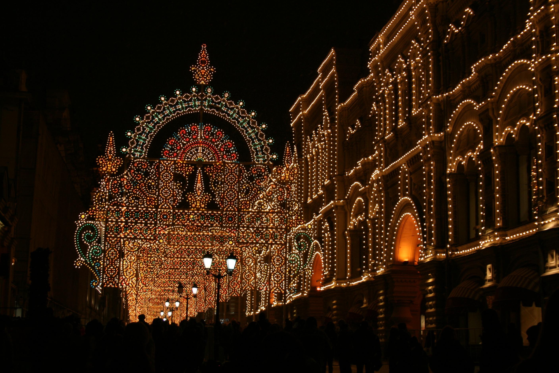 Никольская улица, примыкающая к Красной площади