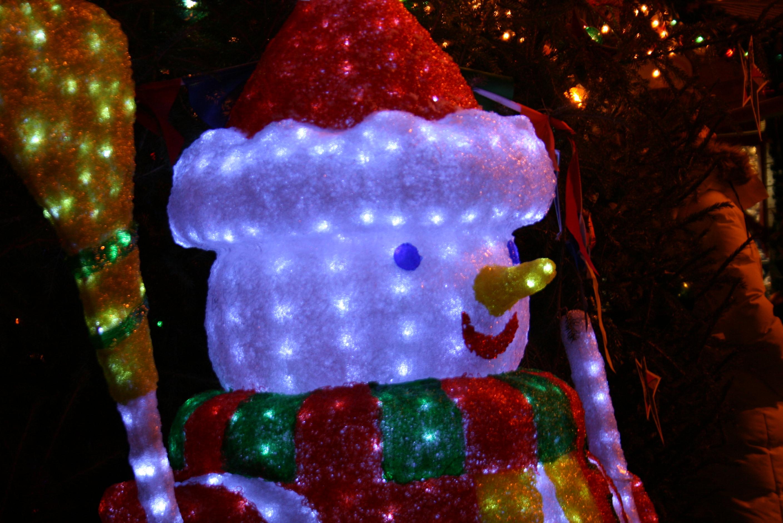 Снеговик Красной площади