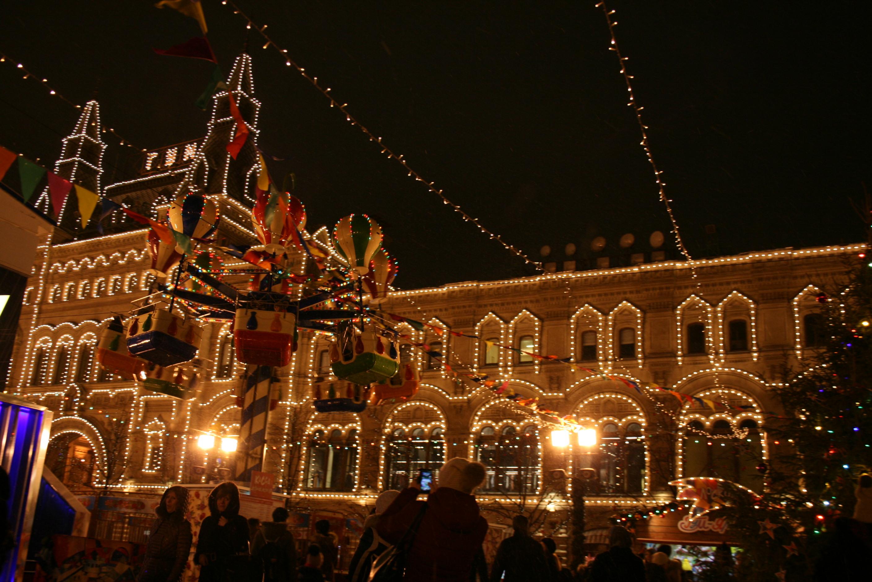 Карусели на Красной площади