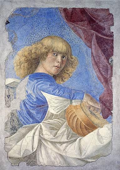 """KMO 116350 07294 1 t222 215352 - Roma Aeterna: """"Ангел, играющий на лютне"""" Мелоццо де Форли"""