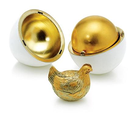 Пасхальное яйцо Курочка. Фаберже