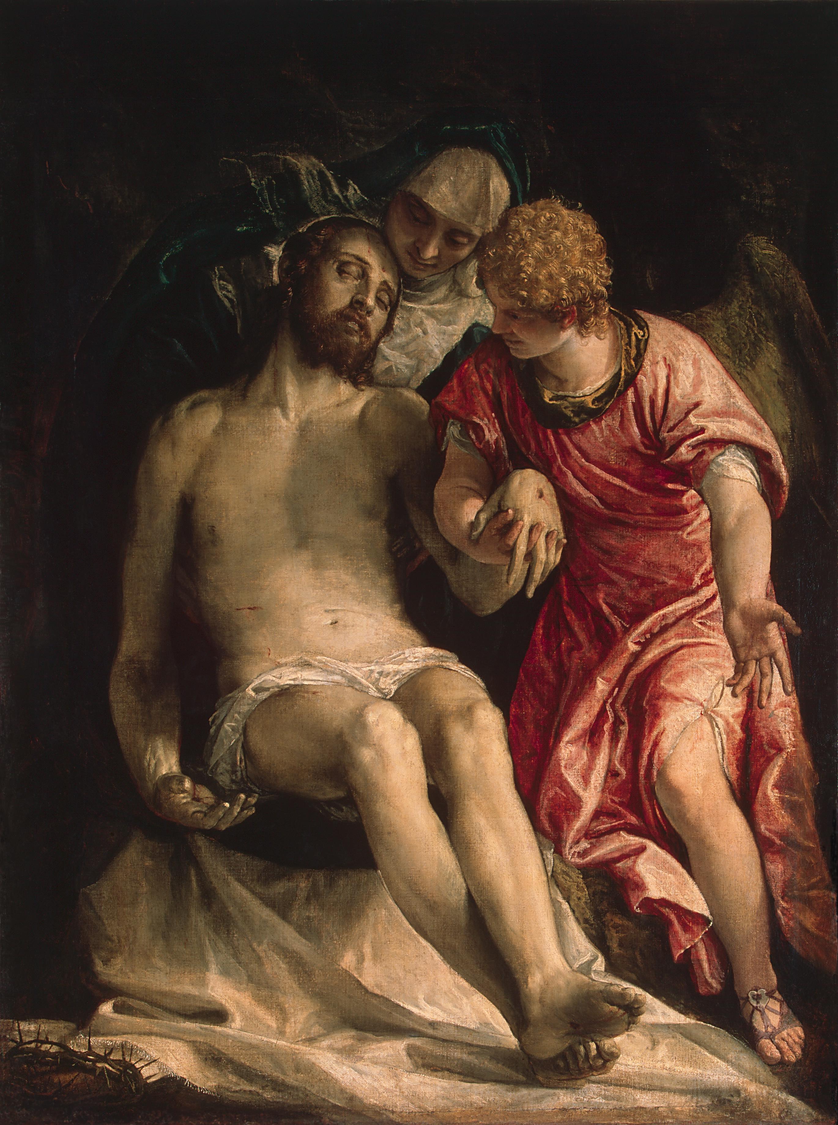 Оплакивание Христа Веронезе Эрмитаж