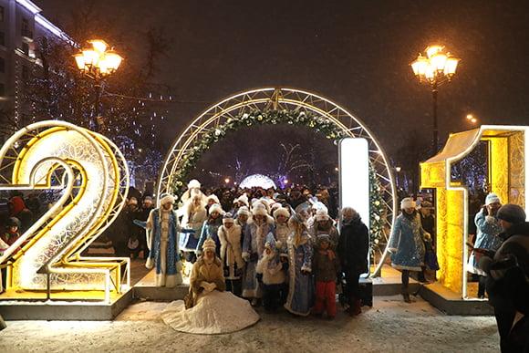 Parad Snegurochek9 - Парад снегурочек