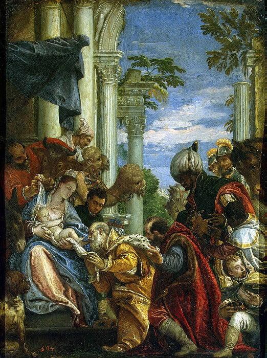 Поклонение волхвов-Веронезе Эрмитаж