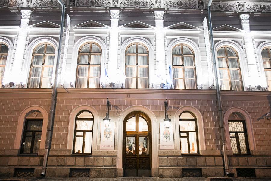 Шуваловский дворец конца XVIII века