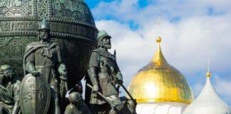 Тысячелетие России Великий Новгород Михаил Микешин