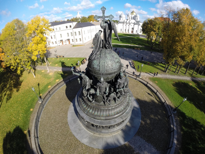 Тысячелетие России Михаил Микешин Великий Новгород