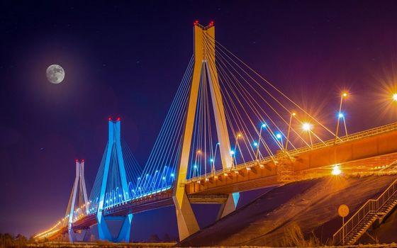 Вантовый мост в Муроме