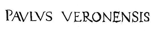 Veronese_autograph