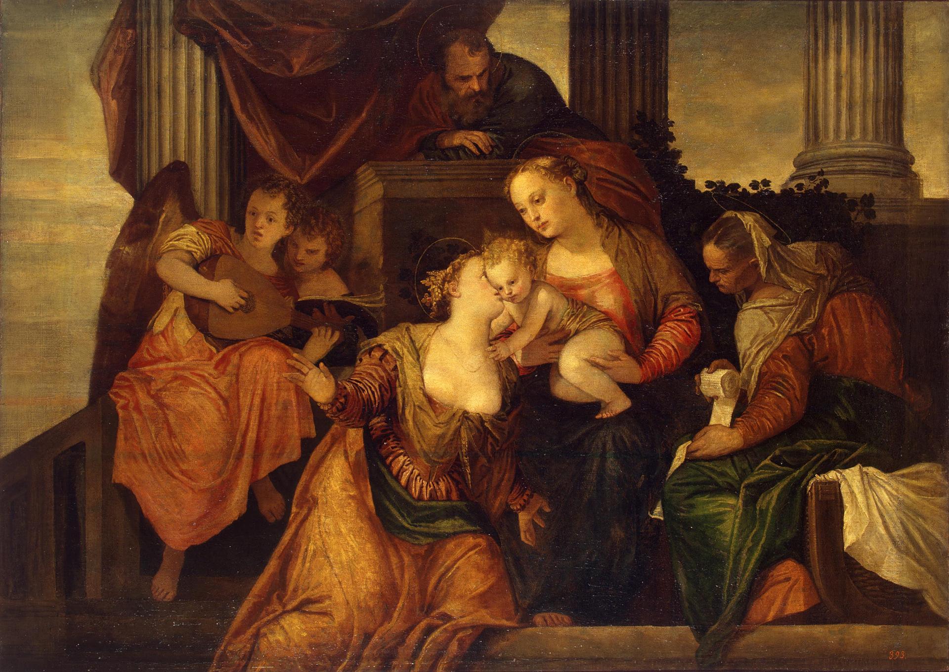 Веронезе.Обручение Святой Екатерины