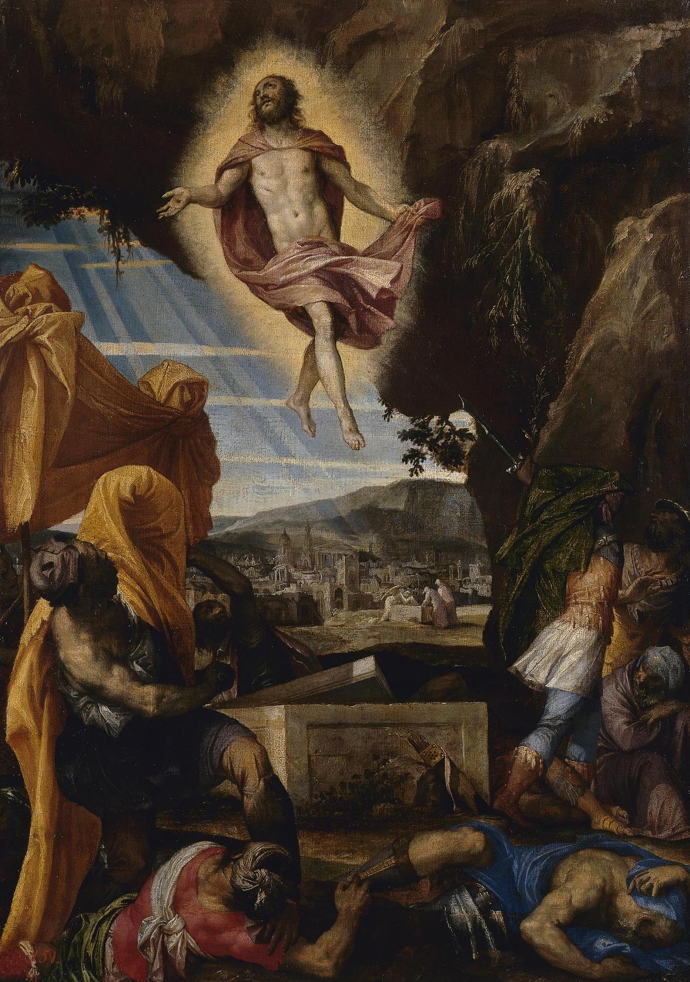 Воскресение Христа Веронезе Эрмитаж