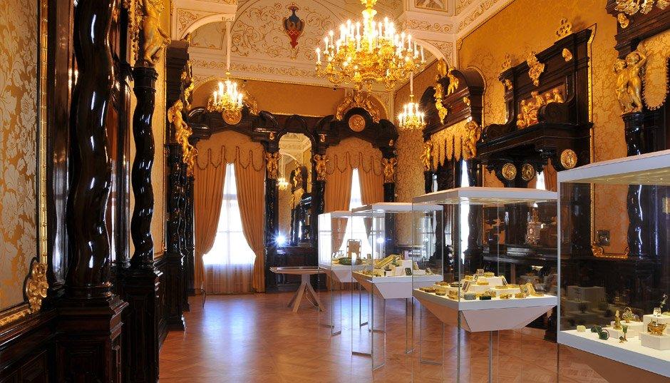 Золотая гостиная. Музей Фаберже