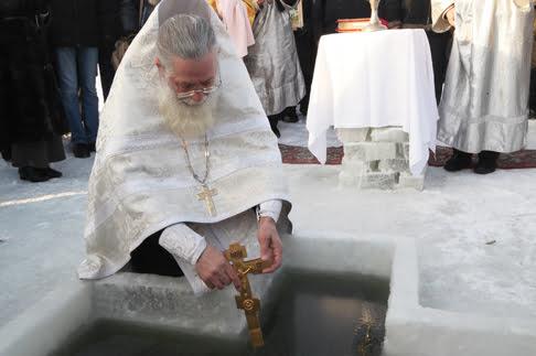 Крещение иордань