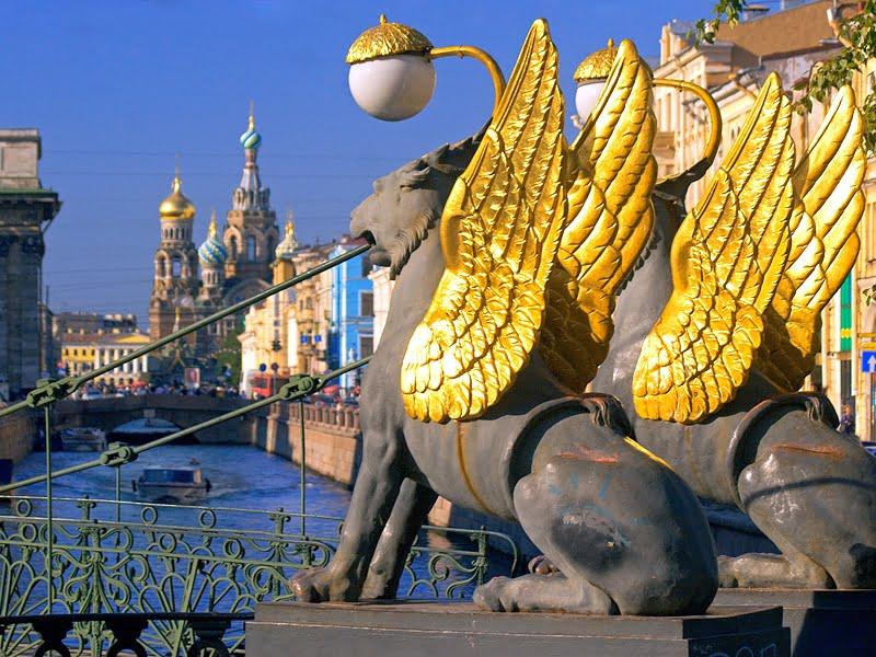 Банковский_мост в Санкт-Петербурге