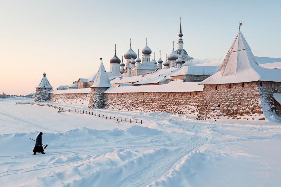 Соловецкий монастырь. Архангельская область