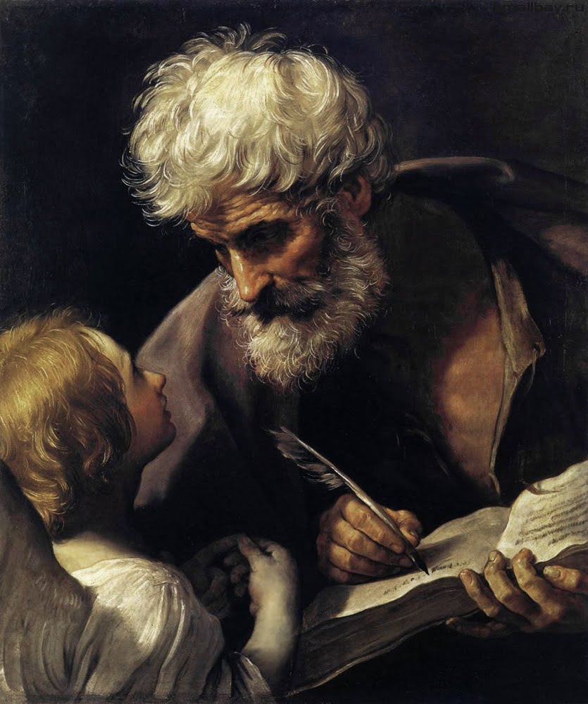 Гвидо Рени. Святой Матфей и ангел. Roma Aeterna