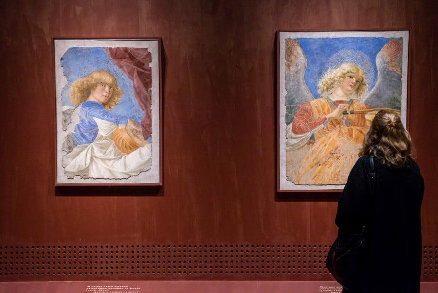Мелоццо. В залах Третьяковской галереи ангелы Мелоццо