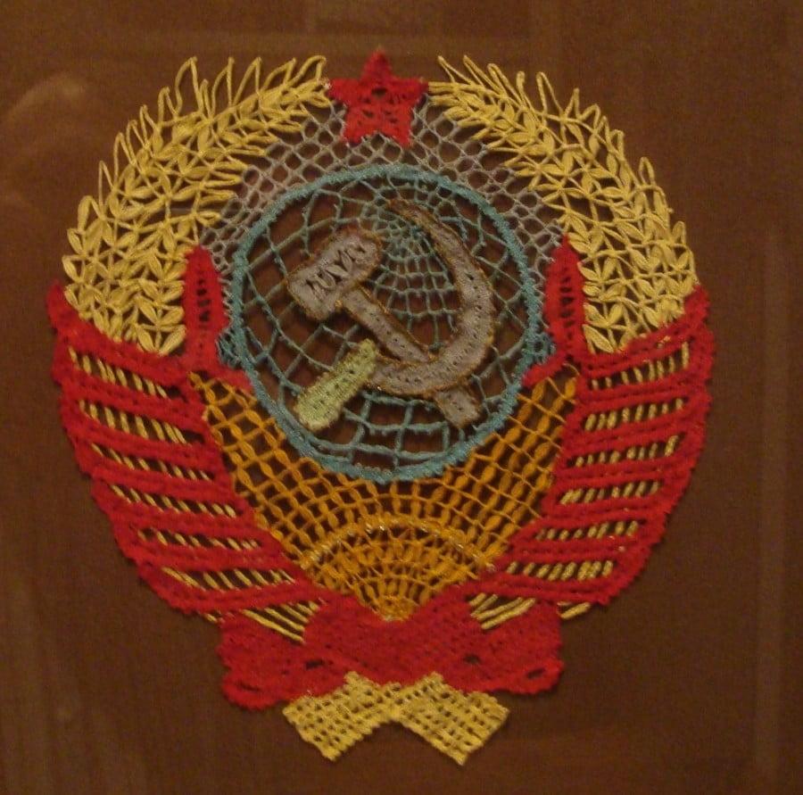 Музей кружева в Вологде. Советская тематика