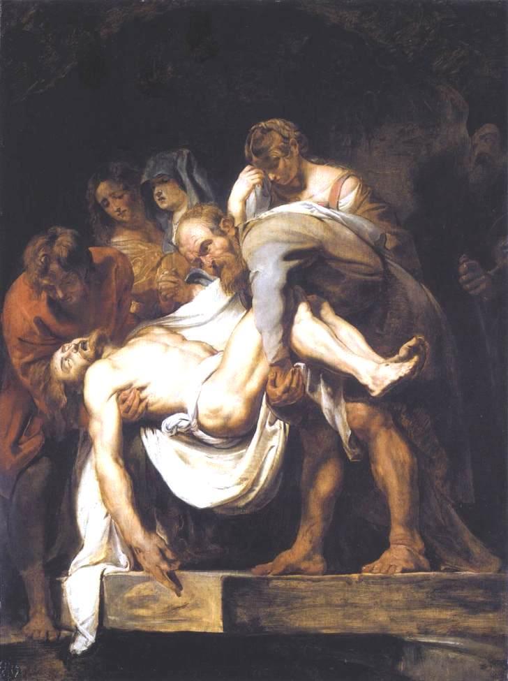 Питер Пауль Рубенс. Положение во гроб, 1612